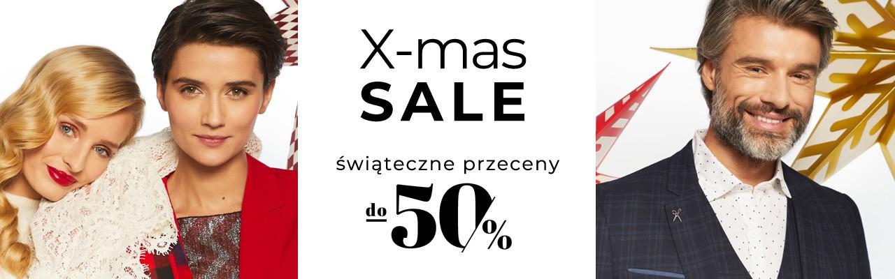 Xmas sale do -50% kurtki i płaszcze