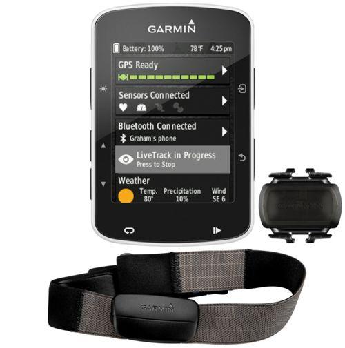 Garmin Edge 520 GPS z HRM, czujnikiem prędkości i kadencji