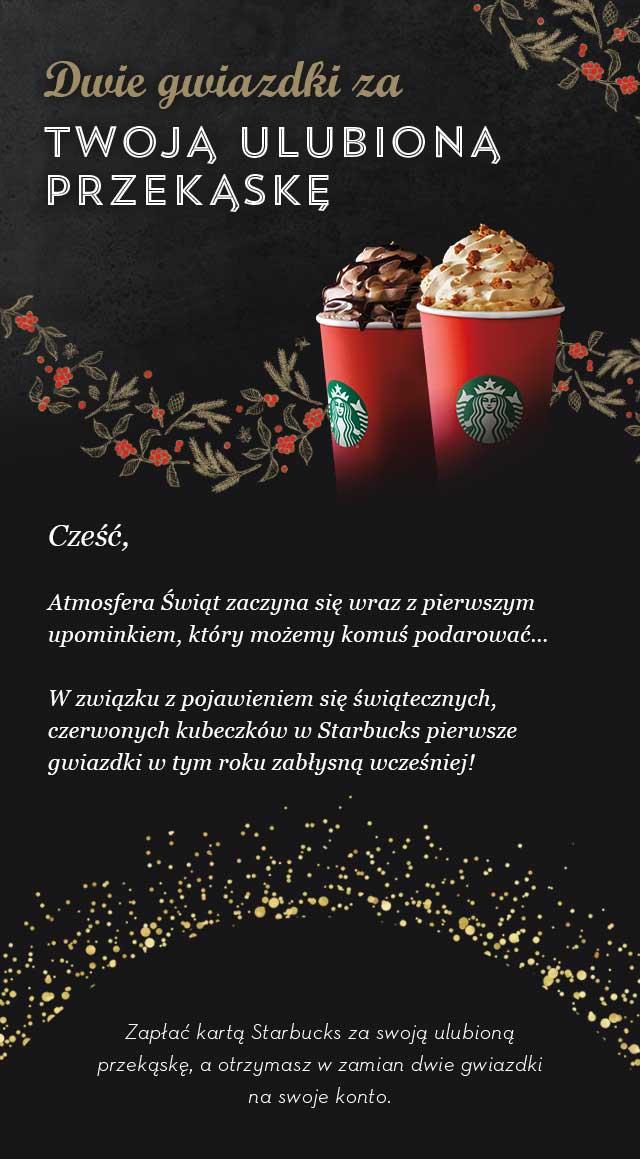 Dwie gwiazki za przekąski @ Starbucks