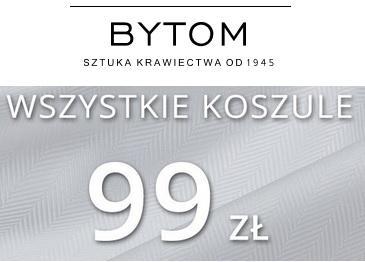 Koszule BYTOM za 99 zł - taniej niż zwykle :p