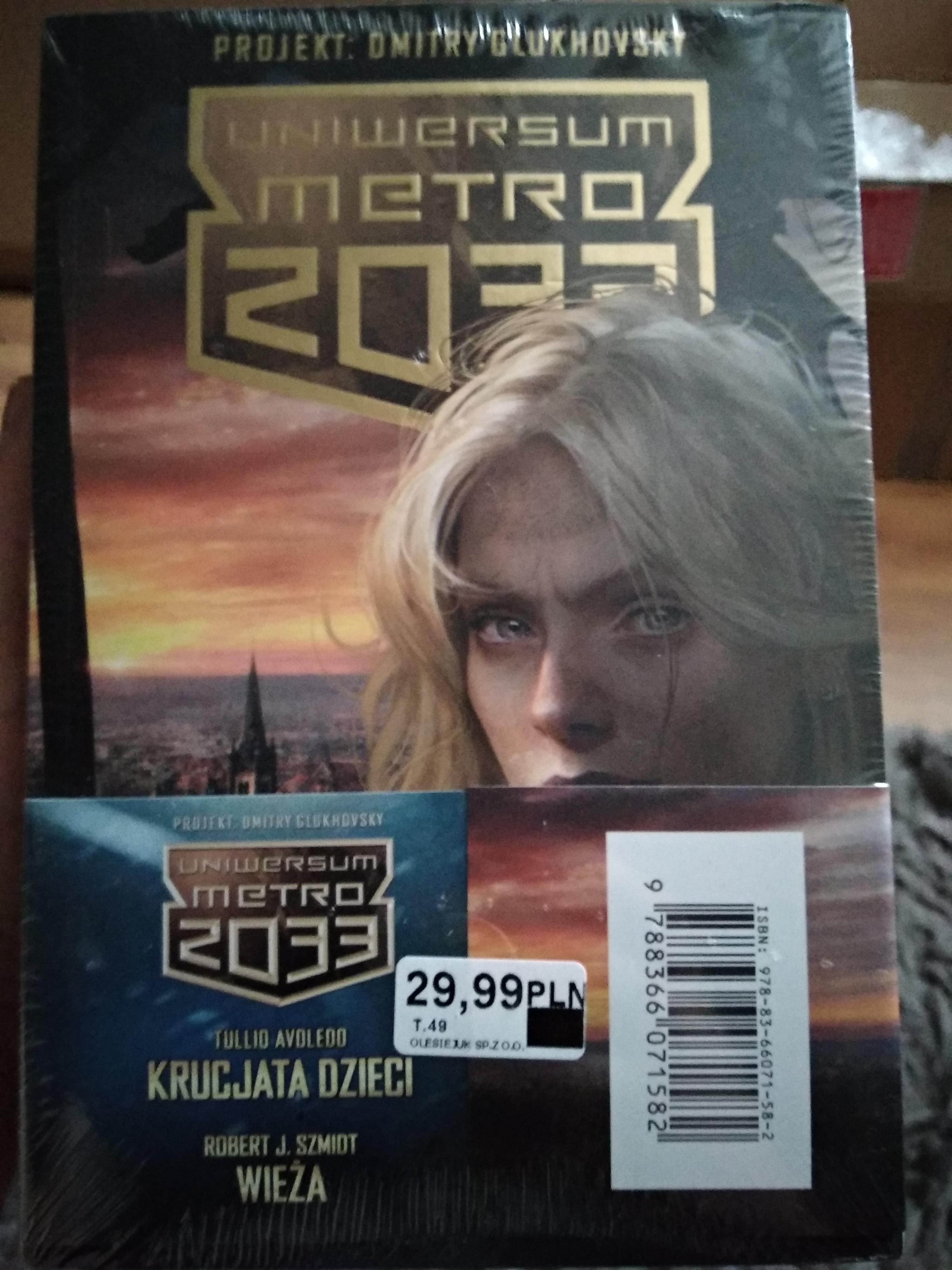 BIEDRONKA Metro 2033 Krucjata dzieci oraz Wieża 2pak