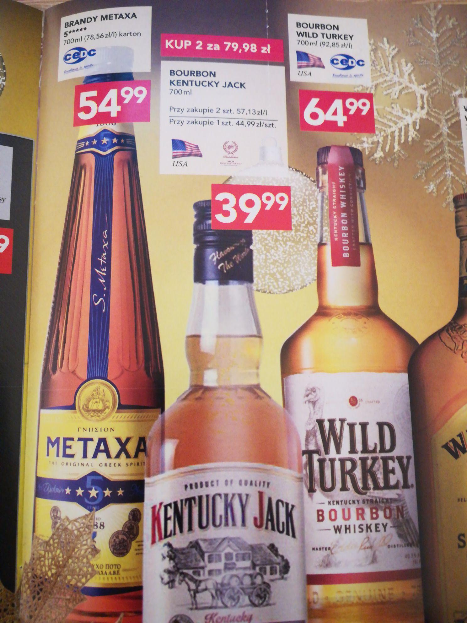 Bourbon Kentucky Jack 700 ml Stokrotka