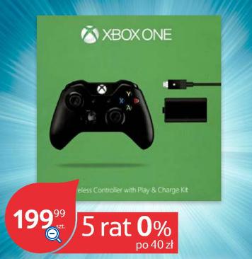 Kontroler do Xbox One + Play&Charge Kit za 199zł @ Tesco