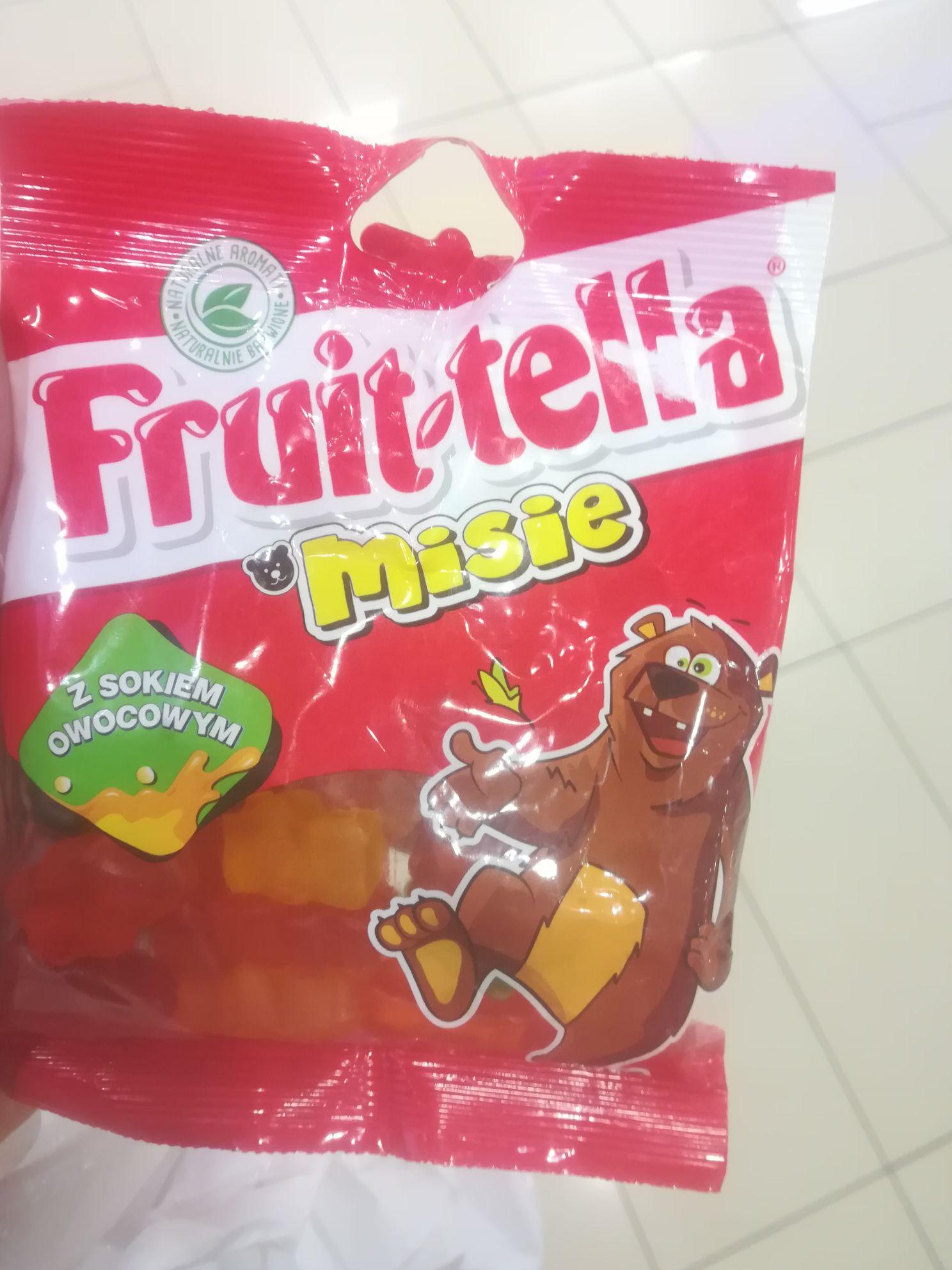 Fruit-tella misie żelki za 40 groszy Empik