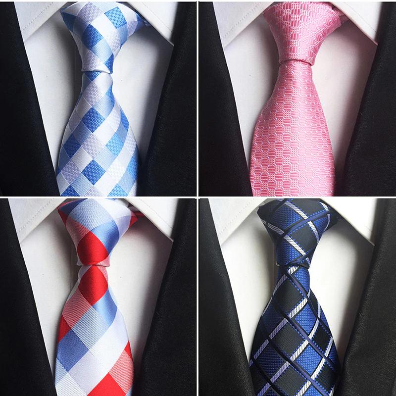 Szerokie krawaty jedwabne 8cm $2.97
