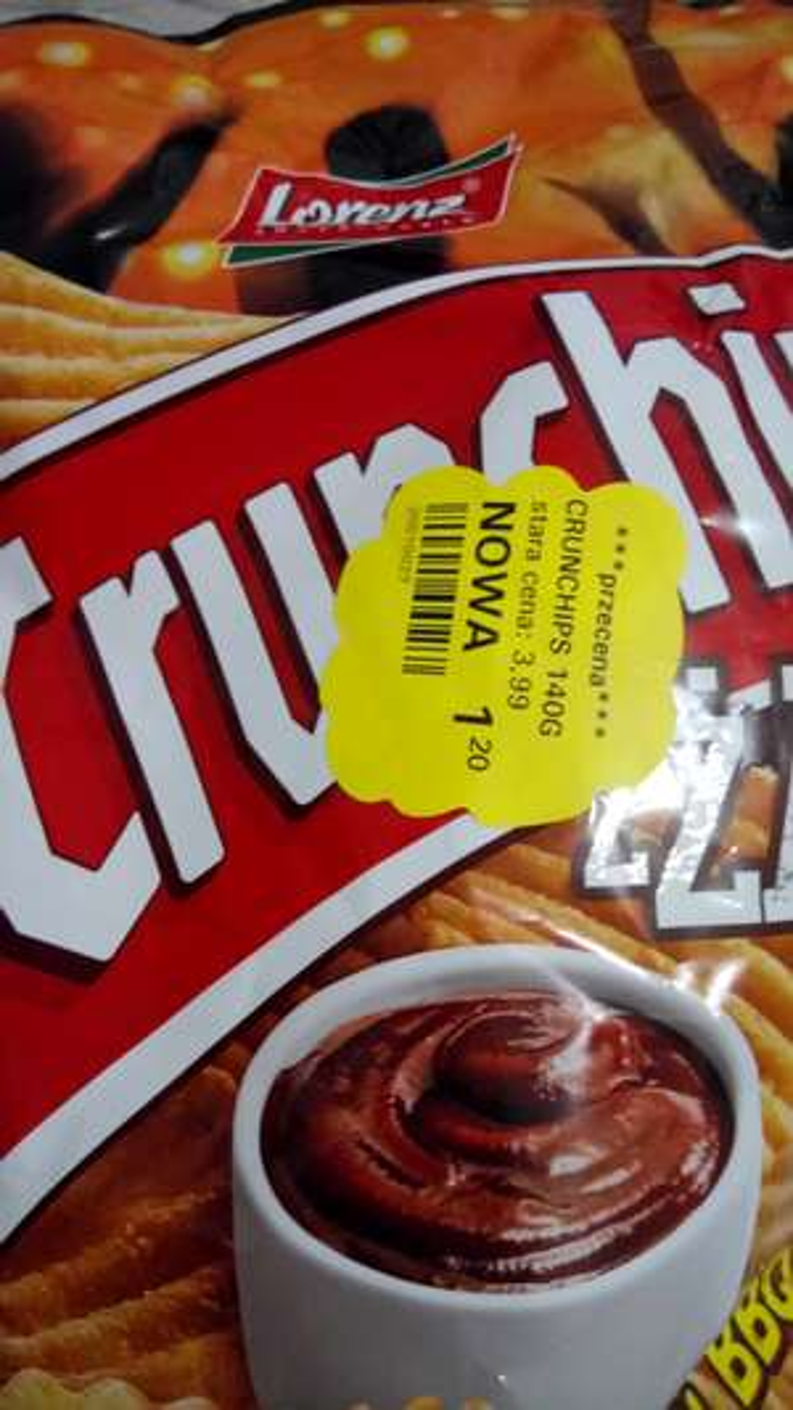 Crunchips za 1.20 zł