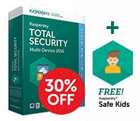 Kaspersky Total Security 2016 Multi Device 3PC/1 rok