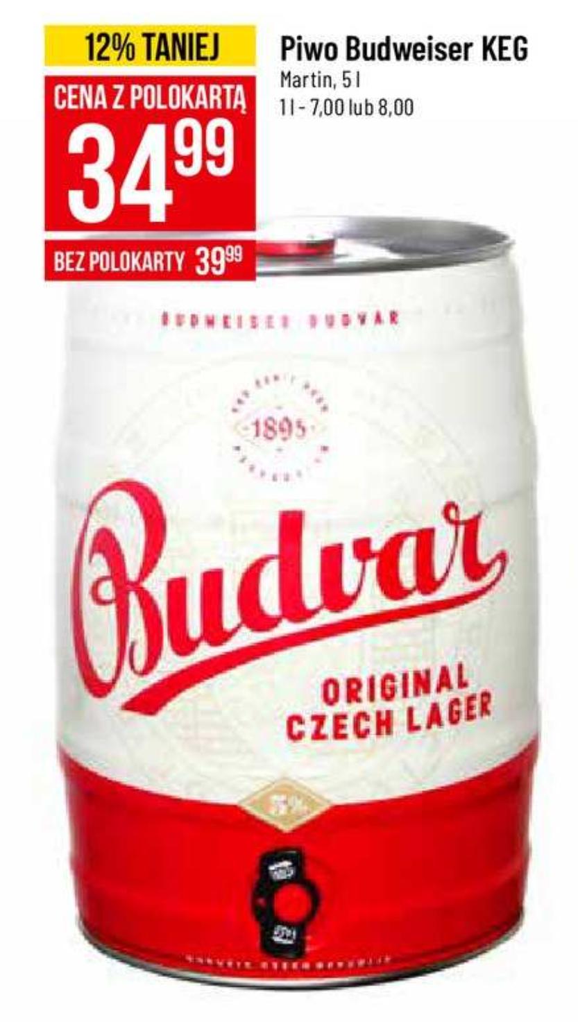 Piwo Budweiser 5l. - Polomarket