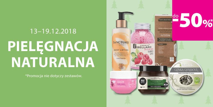 Do 50% zniżki na kosmetyki naturalne (marka Nacomi w dobrej cenie) @ Hebe