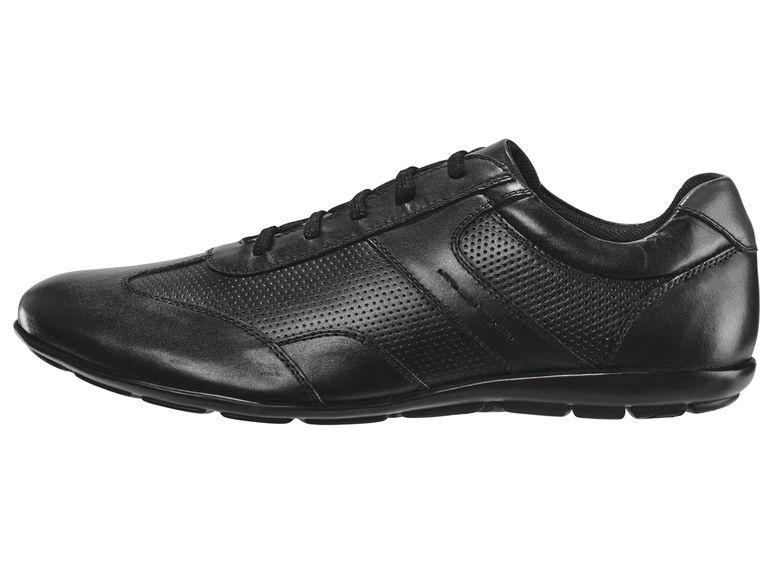 Lidl | Buty skórzane Premium Collection Livergy Męskie | wyprzedaż