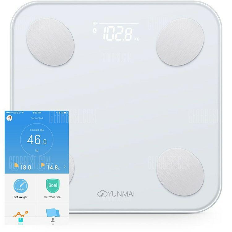 Waga Xiaomi Yunmai Mini 2 Scale MAGAZYN PL 29.99 USD łazienkowa smart inteligentna