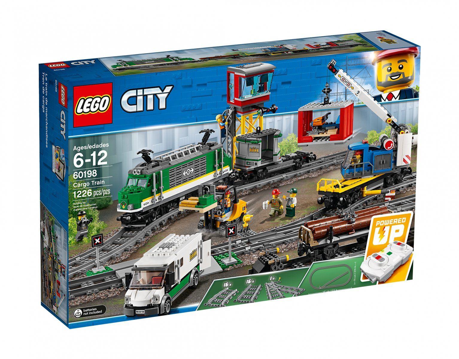 Lego City - pociąg towarowy (60198) - 556,45 z przesyłką