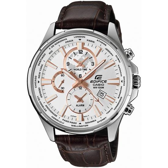 "Zegarek dla ""podróżników"" ;) CASIO EDIFICE EFR-304L-7AVUDF."