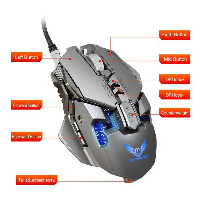 Mysz Gamingowa jak SteelSeries