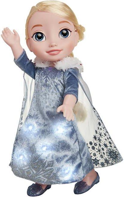 Jakks Pacific Elsa interaktywna - Przygoda Olafa, Frozen Kraina Lodu 35 cm