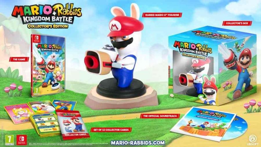 Mario + Rabbids Kingdom Battle - Edycja kolekcjonerska (Nintendo Switch)