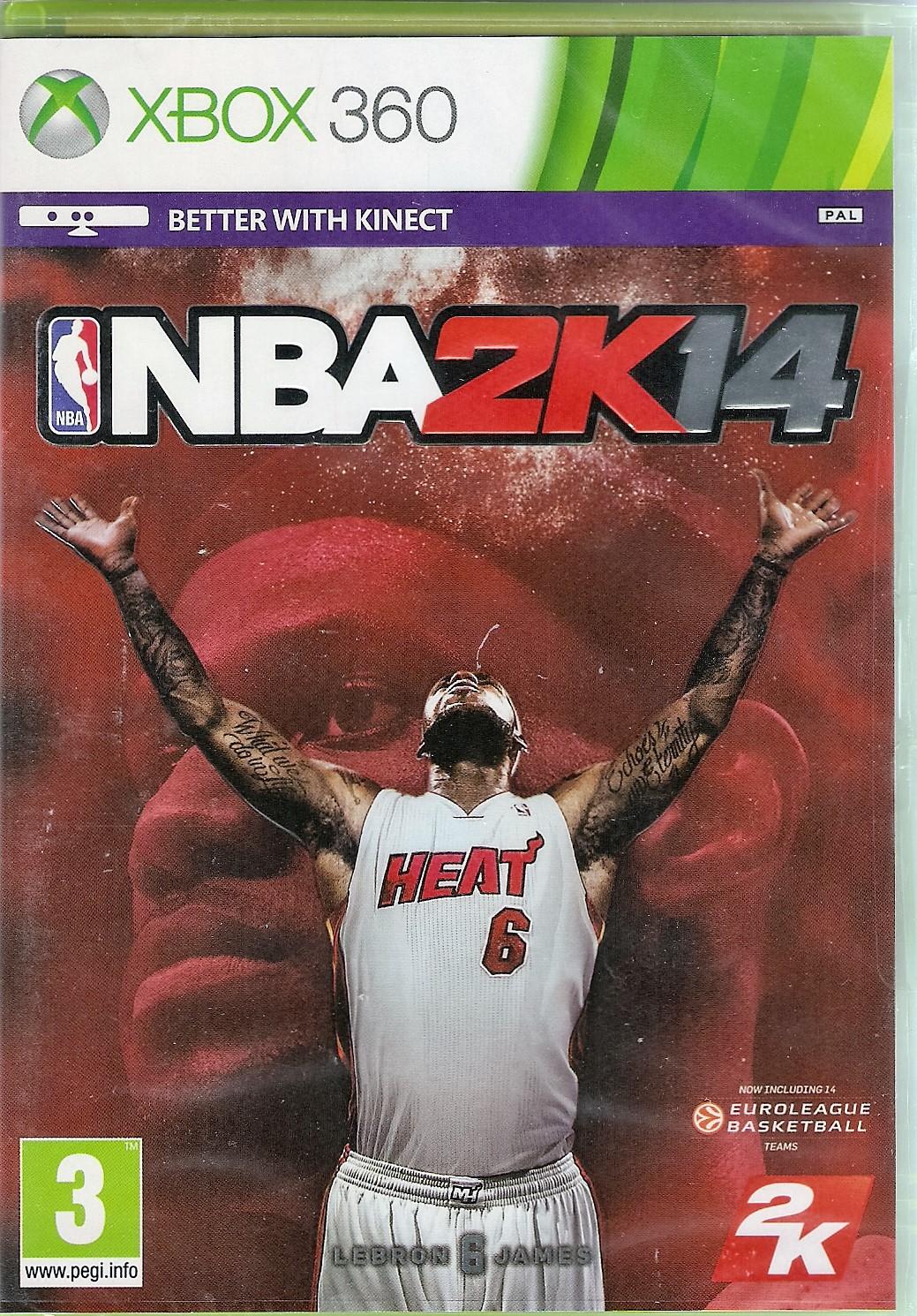 NBA 2K14 XBOX 360