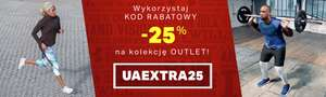25% rabatu na kolekcję Outlet w MM Sport - Under Armour