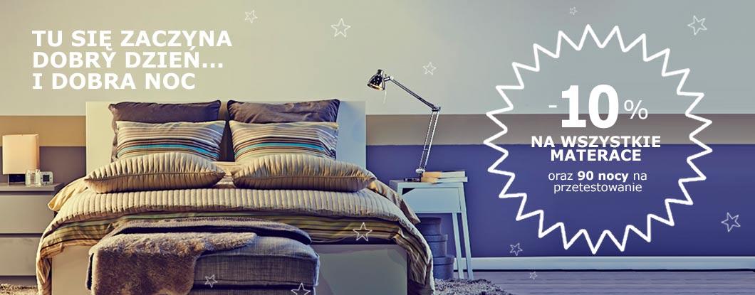 10% rabatu na wszystkie materace i 90 nocy na przetestowanie @ Ikea