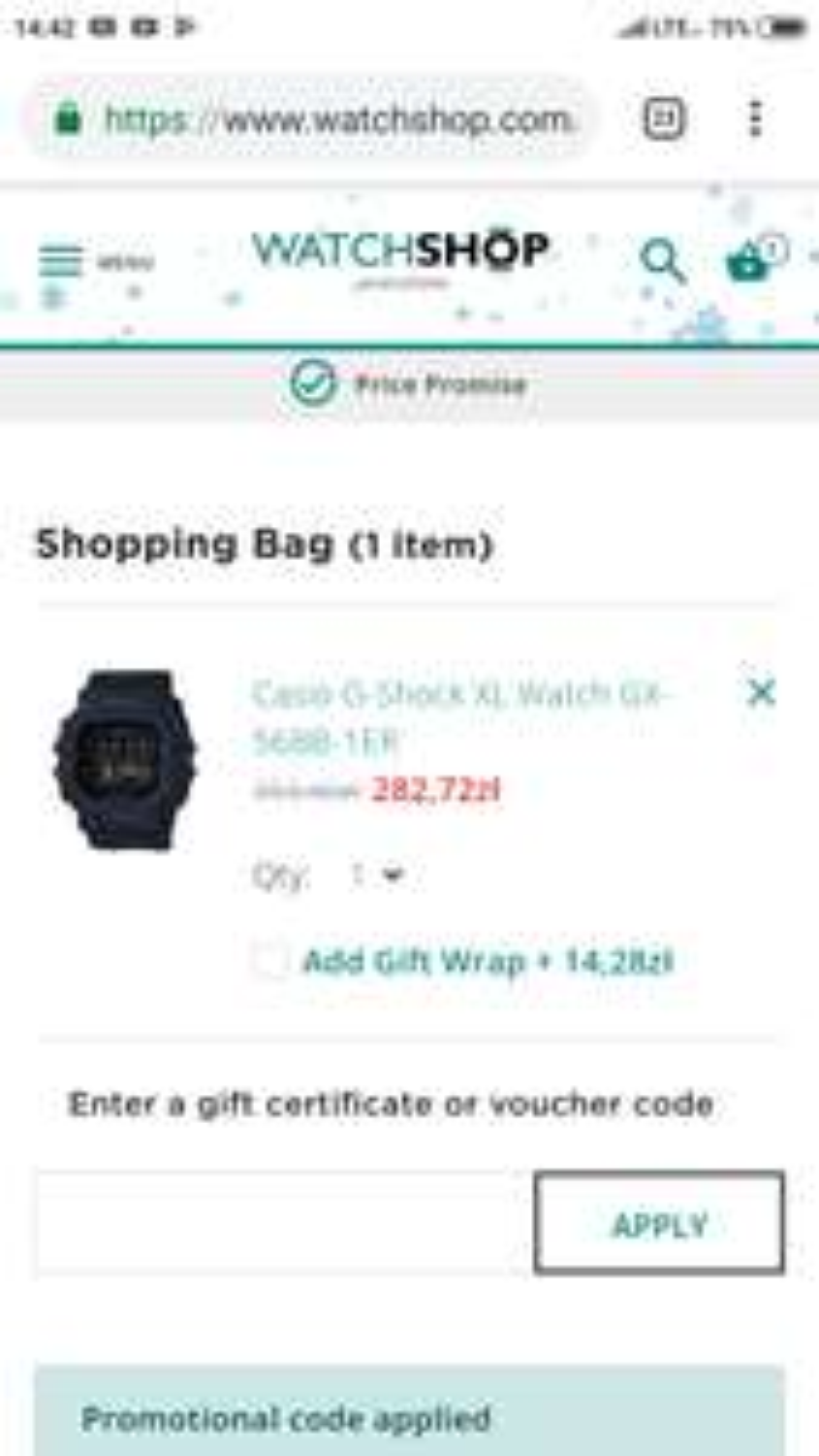 Zegarek Casio G-Shock XL 'KING OF G' GX-56BB-1ER