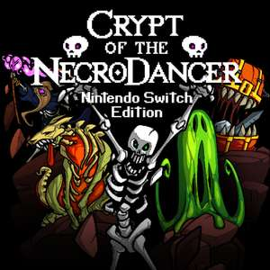 Crypt of the Necrodancer - Nintendo Switch (możliwe 14,20zł)