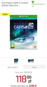 Project Cars 2 Limited Edition XBOX ONE Outlet