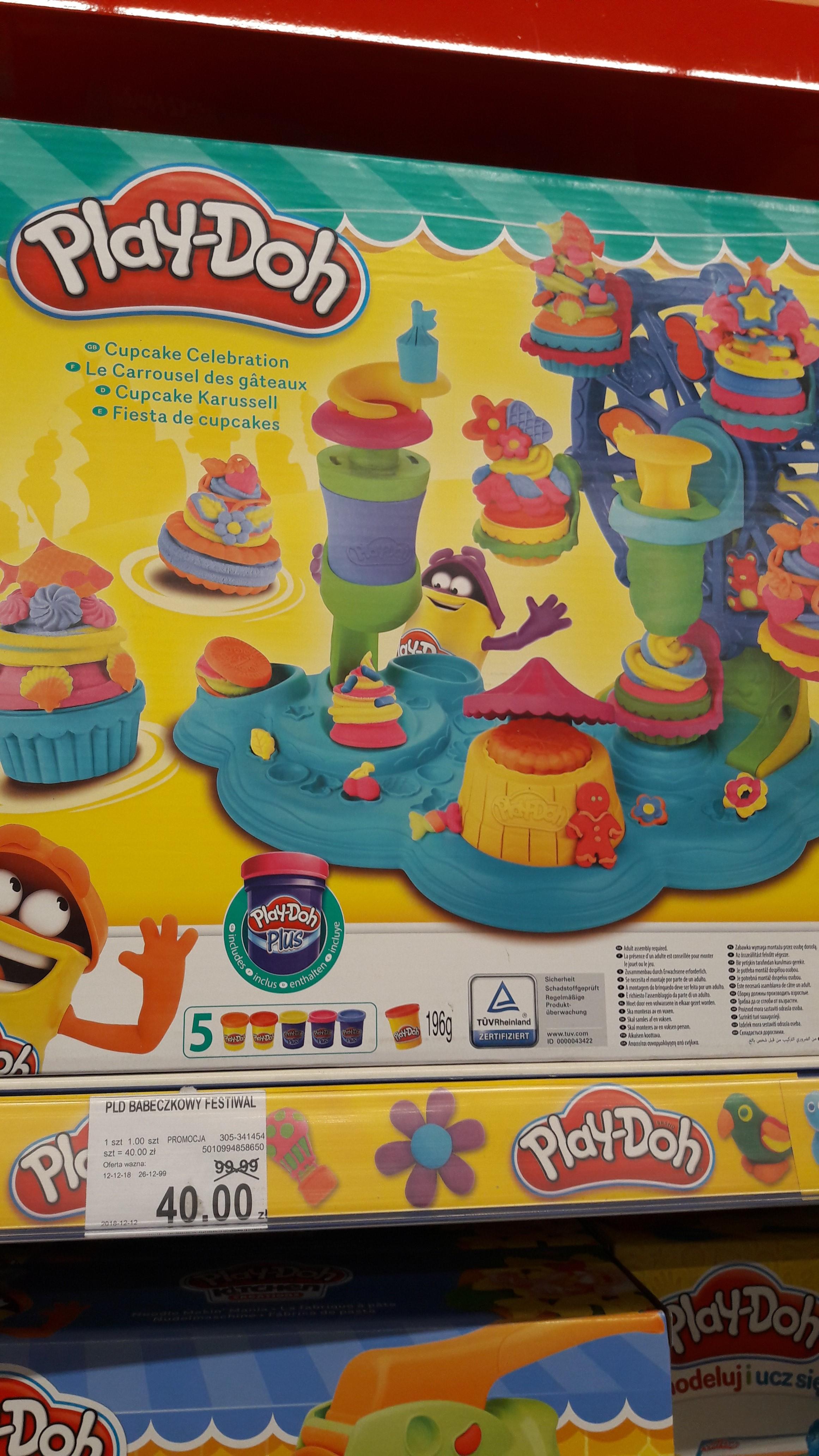 Play-Doh Babeczkowy Festiwal B1855