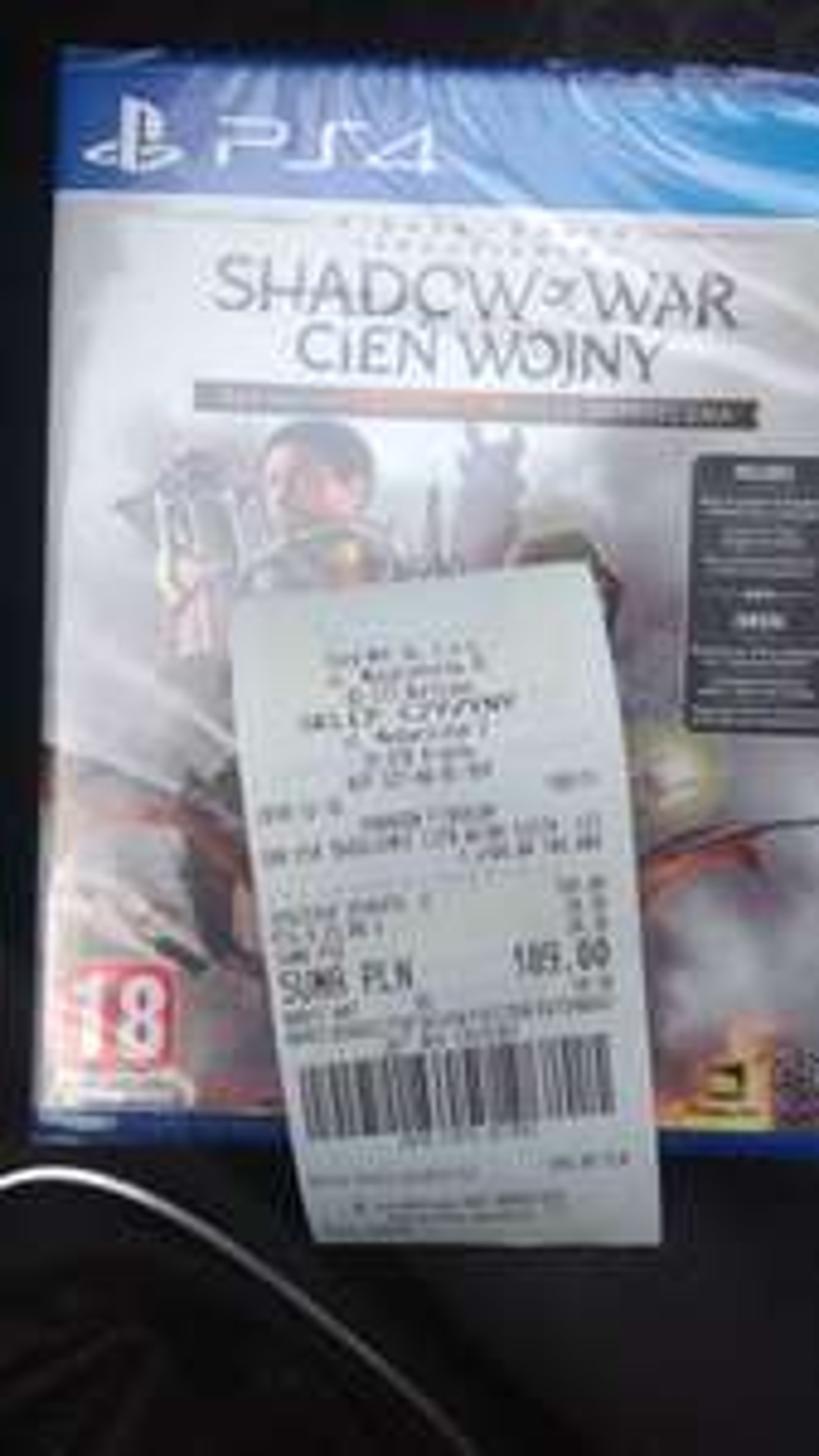 Śródziemie Cień Wojny Edycja Ostateczna PS4