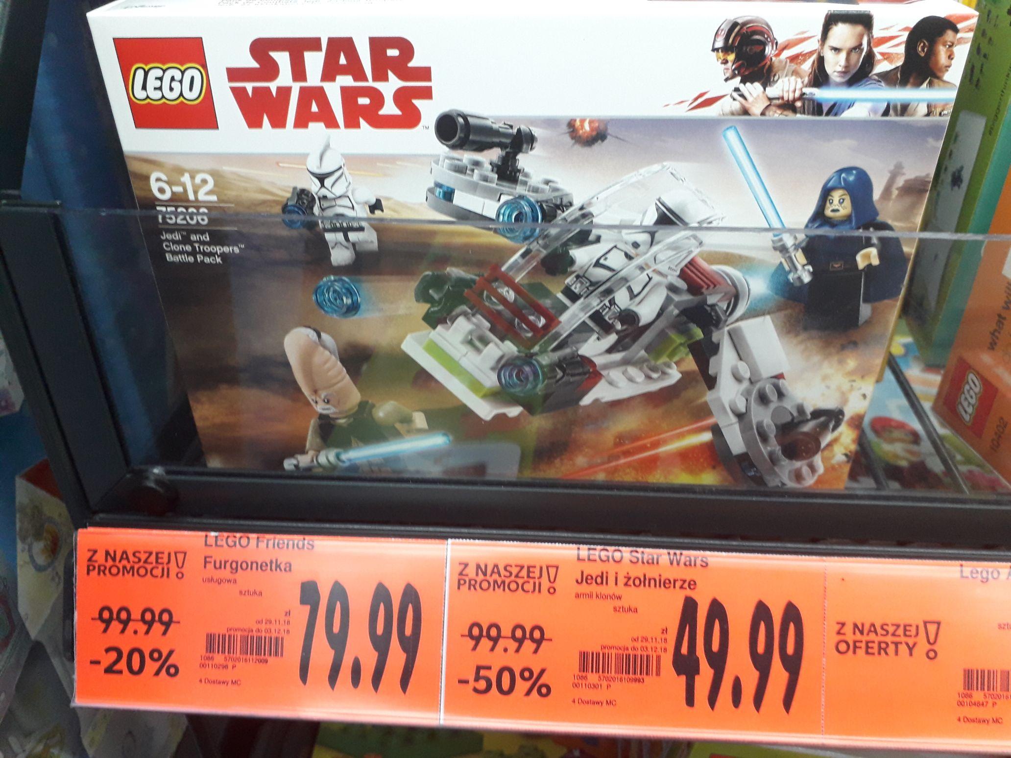 LEGO Star Wars Jedi i żołnierze (Kaufland, Kutno)