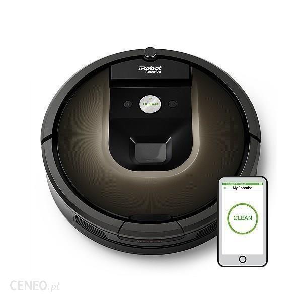 Odkurzacz iRobot Roomba 980 - najniższa cena z polskiej dystrybucji