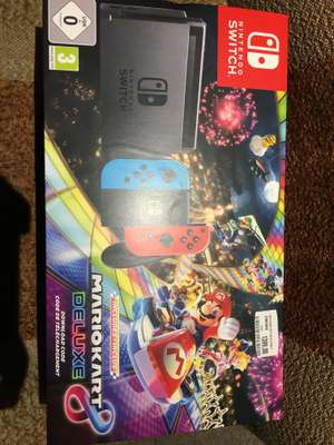 Nintendo switch + mario kart 8 media markt