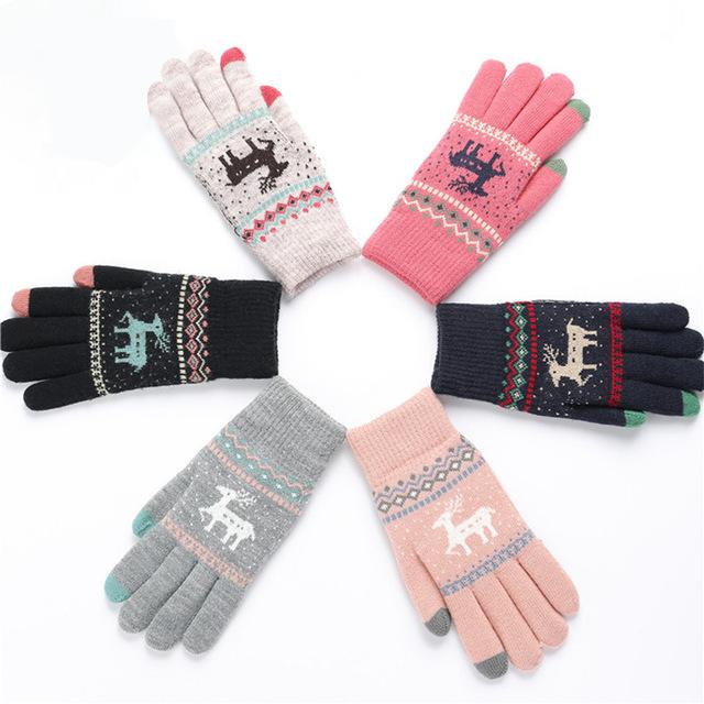 Najtańsze rękawiczki w reniferki