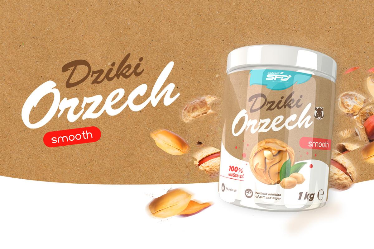 SFD NUTRITION DZIKI ORZECH MASŁO ORZECHOWE