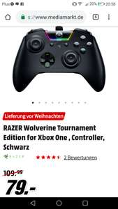 Na Niemieckim Media Markt jest Razer Wolverine Tournament Edition do Xboxa One
