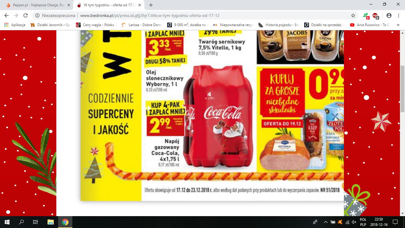 Coca Cola  4x1.75l