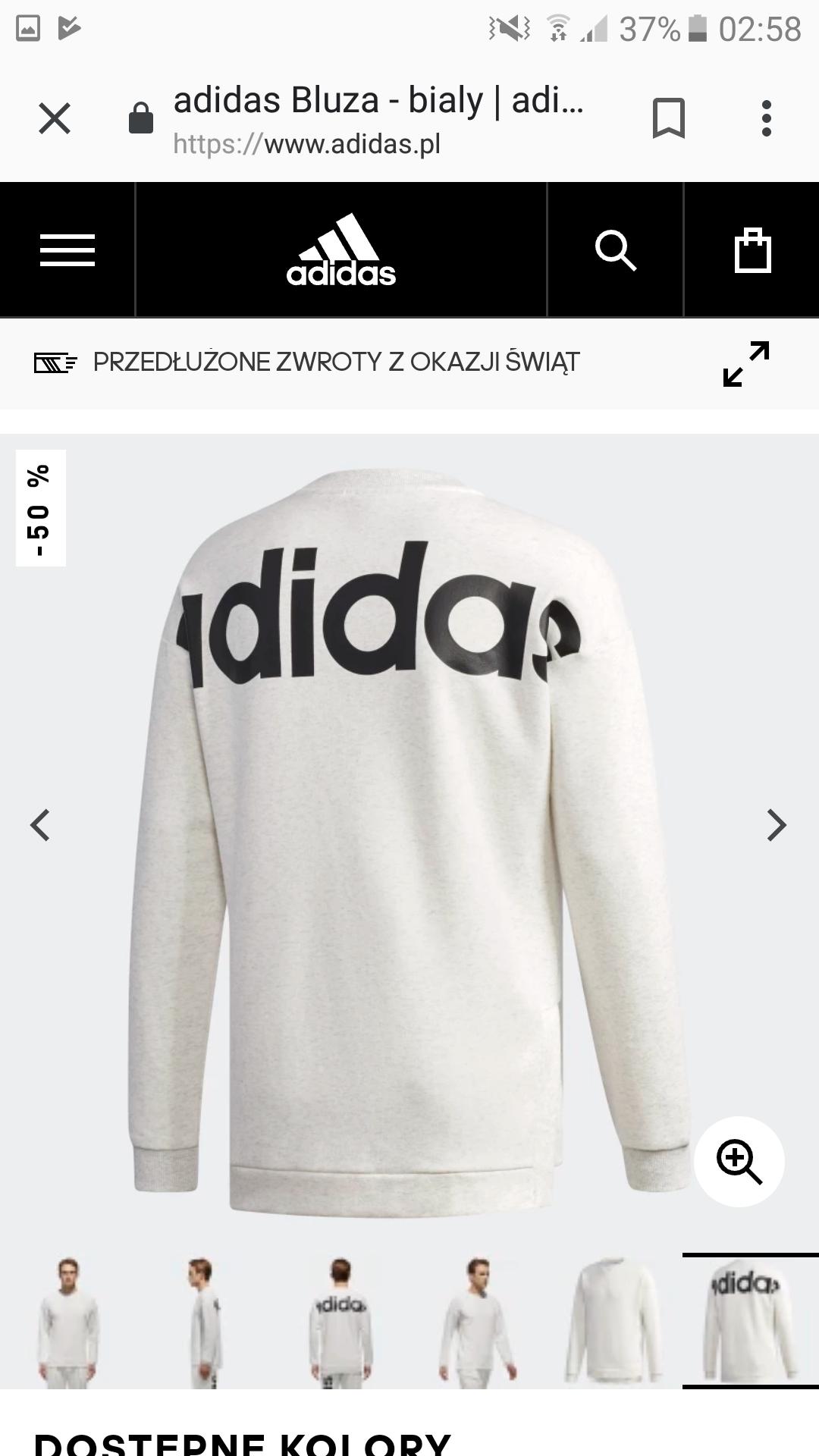 Adidas.pl wyprzedaż, darmowa wysyłka bez MWZ