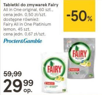 Fairy - tabletki do zmywarki 60 szt.- All in One