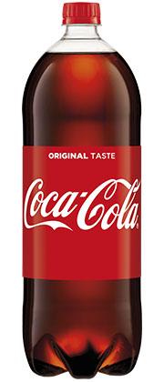 Coca-Cola 1,75 litra (1,7 PLN / litr)