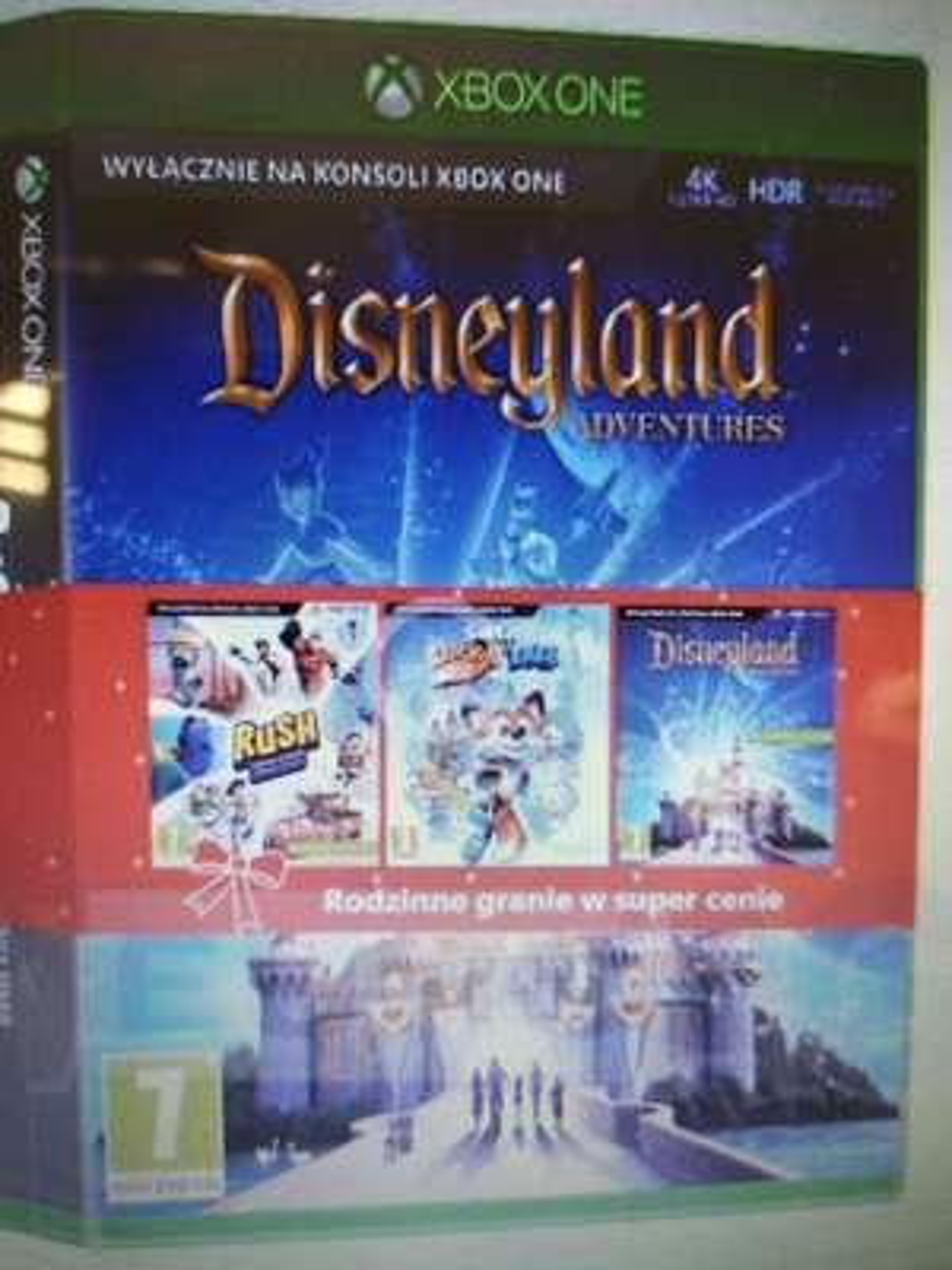 Rush , Disneyland, Super Lacky