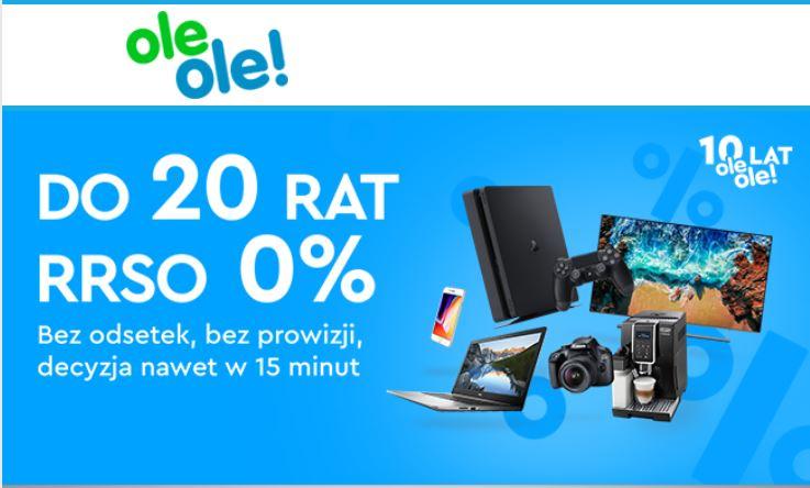 Ole Ole Raty 0%