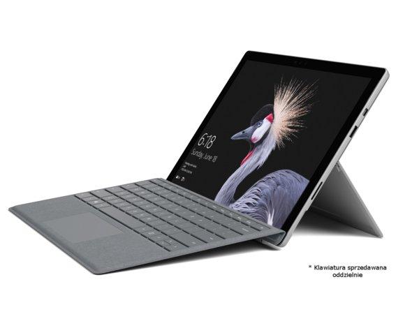 Laptop/Tablet 2w1 MICROSOFT Surface Pro+gry i torba +300 zł