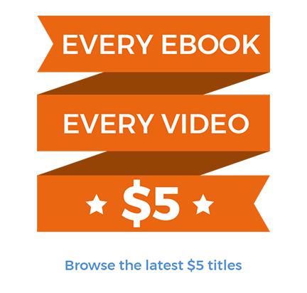 Programistyczne eBooki i kursy wideo po 5 USD