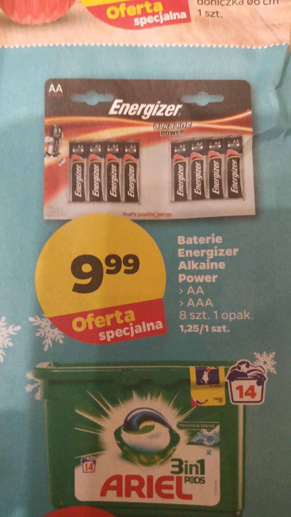 Baterie Energizer Alkaine Power AA/AAA