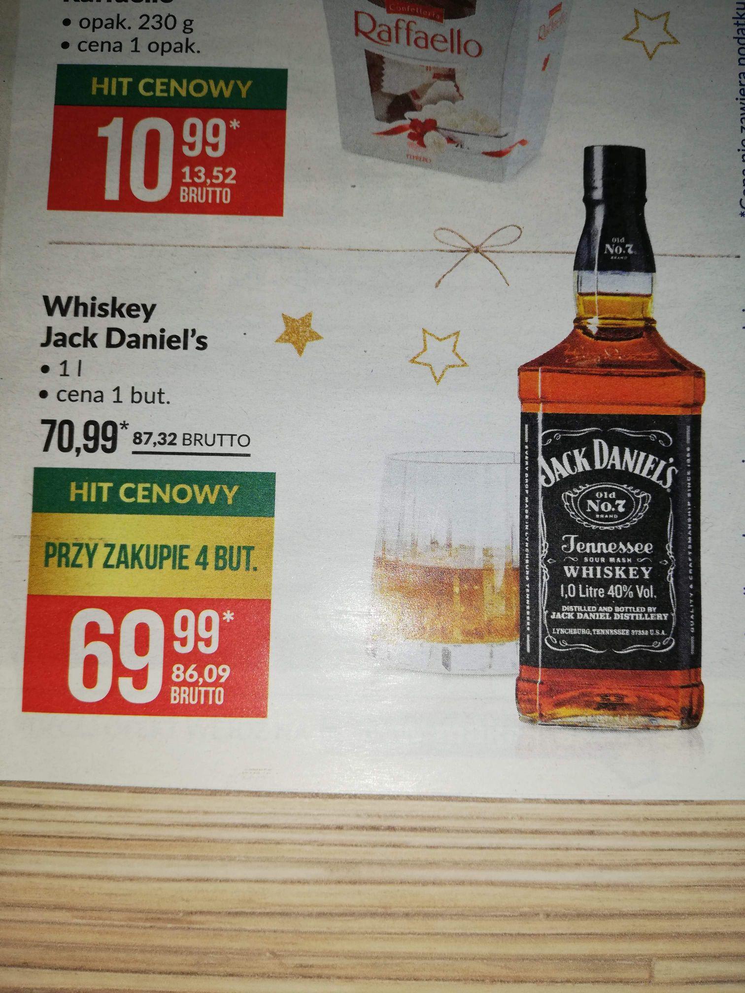 Jack Daniel's 1l w Makro