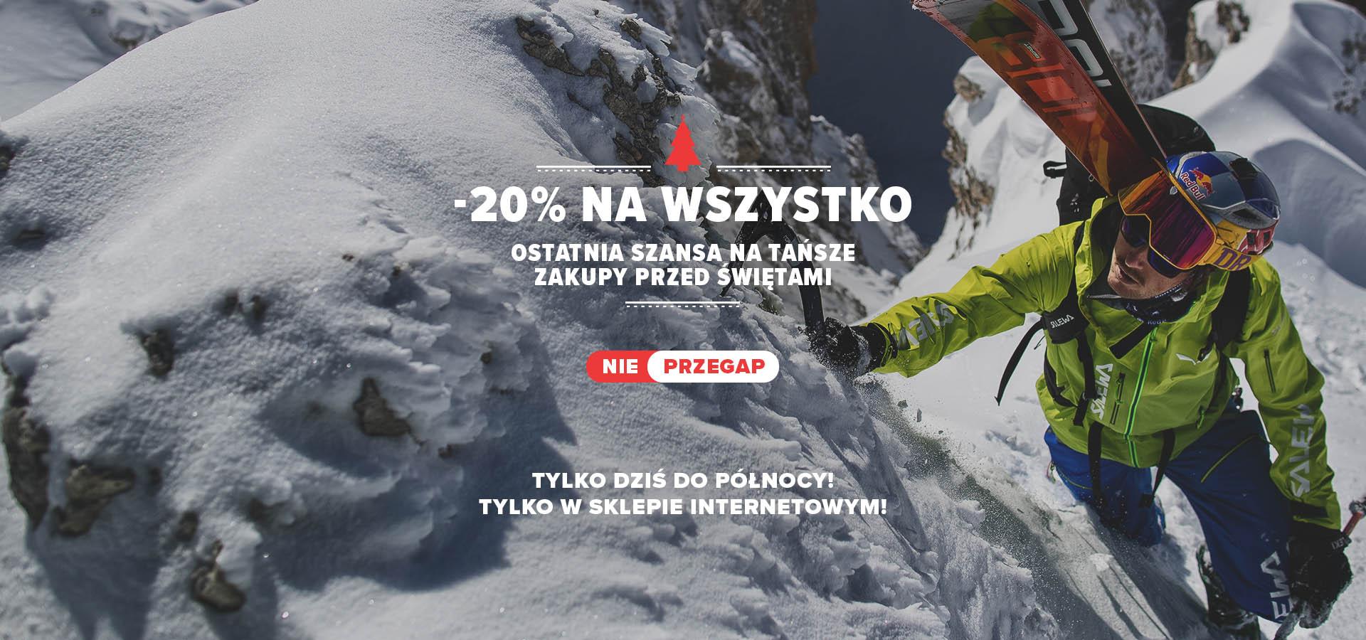 -20% na Wszystko! na Polarsport!