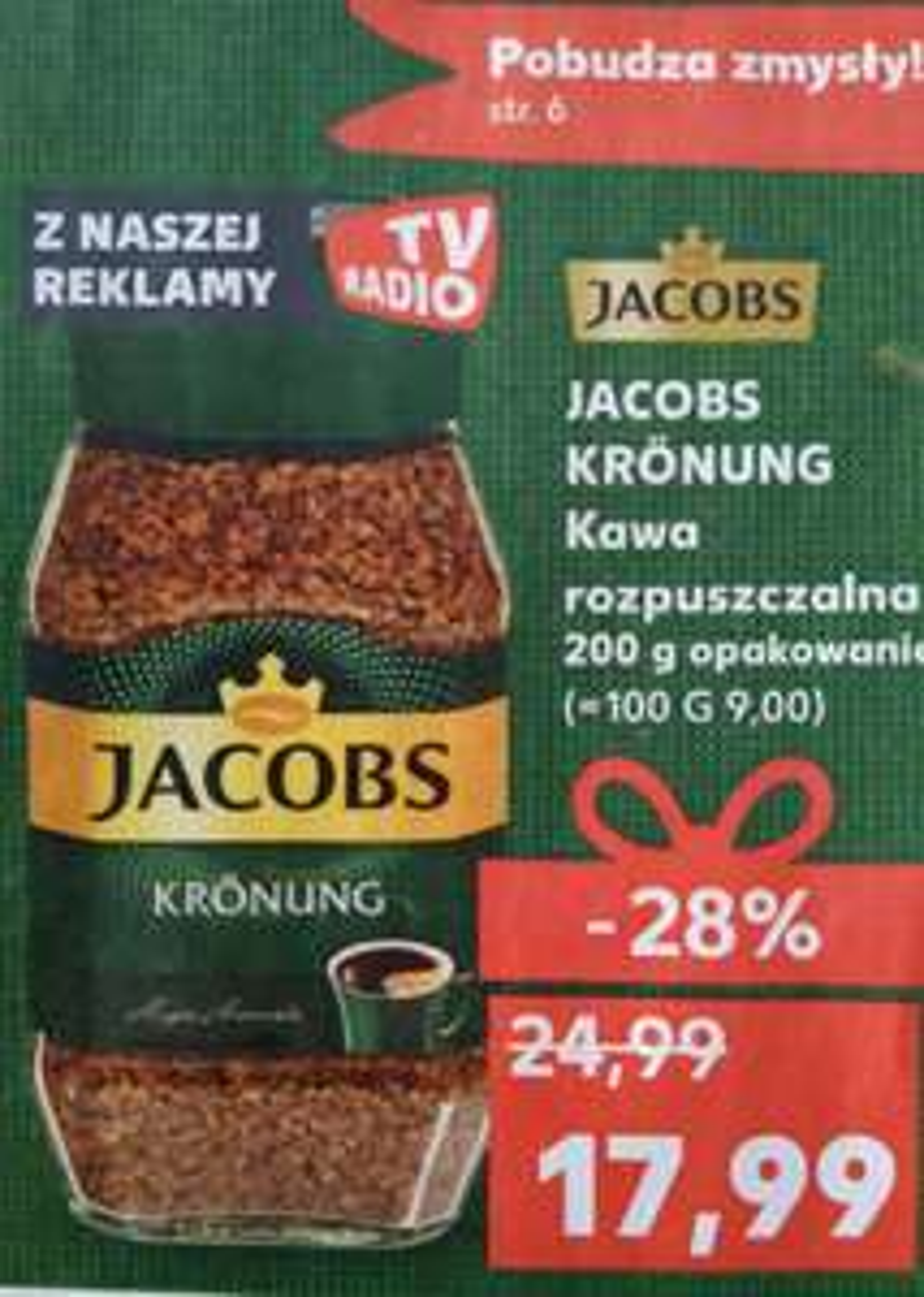 Jacobs Kronung 200g Kaufland