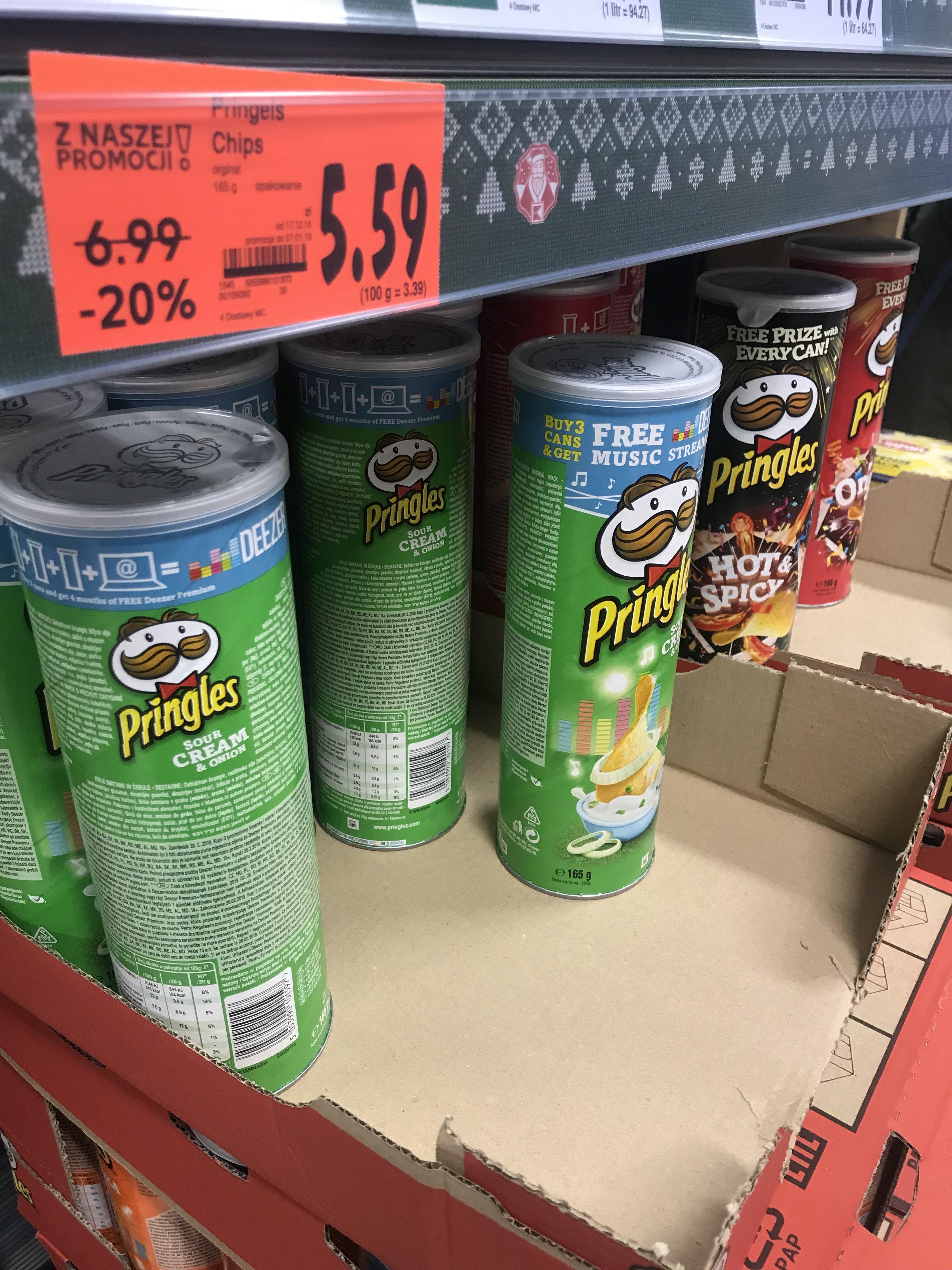 Pringles różne smaki - Kaufland