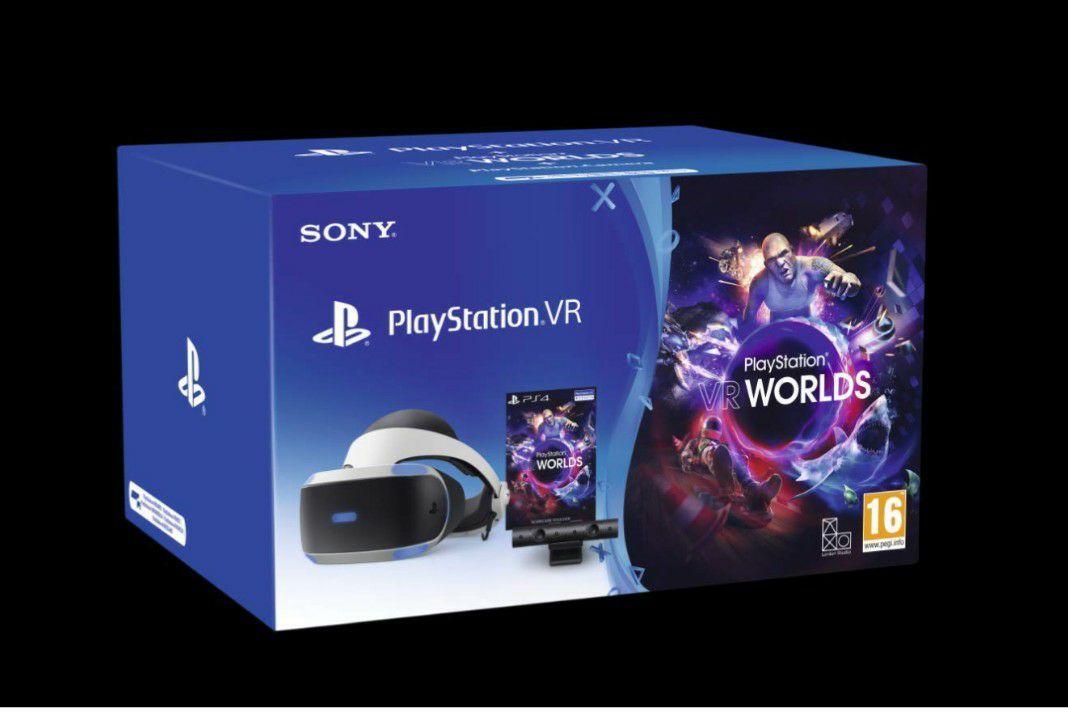 Sony PlayStation VR bundle /gogle, kamera, gry