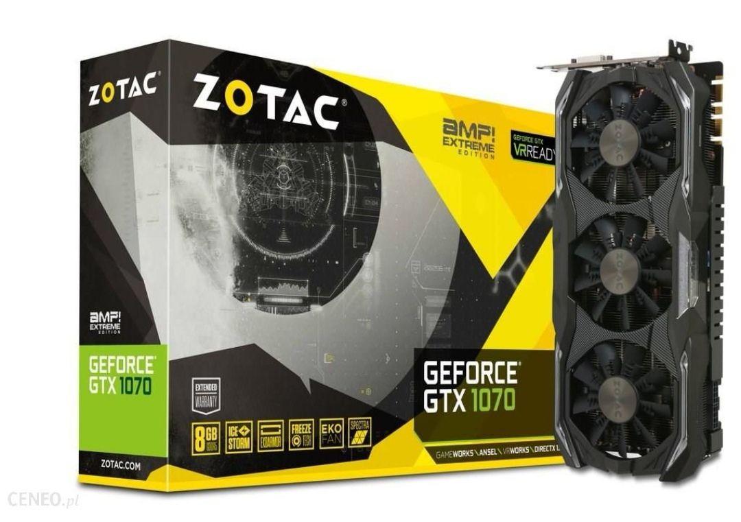 Zotac GeForce GTX1070 AMP EXTREME 8GB 256BIT GDDR5