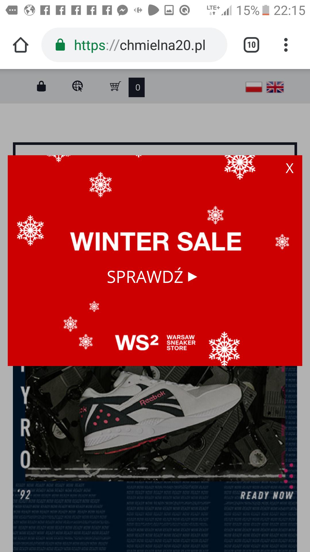 Winter Sale. Markowe obuwie już od 80pln.